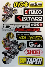 Blandat Ngk, dirt rider mm