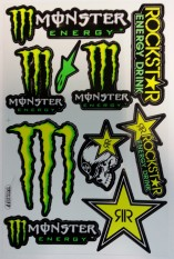 Monster/rockstar grön