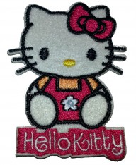 Tygmärken Hello Kitty 12