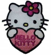Tygmärken Hello Kitty 2