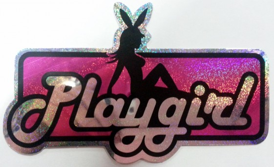 Playgirl rosa metallic