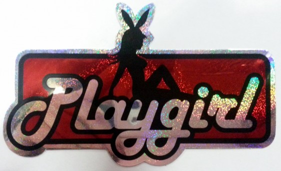 Playgirl röd metallic