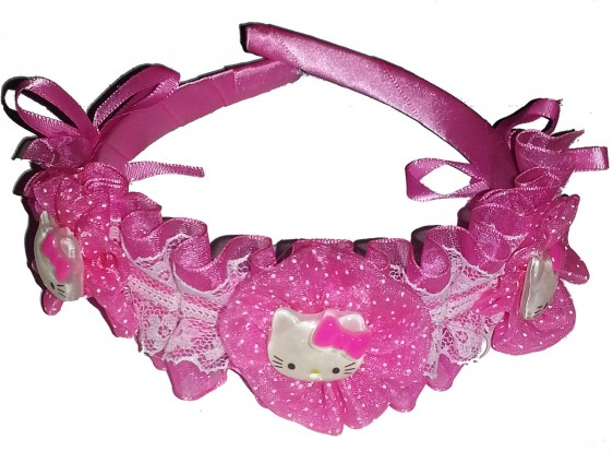 Hello Kitty Diadem rosa