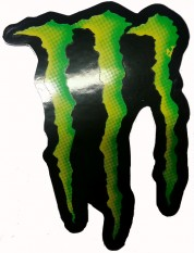 Monster grön
